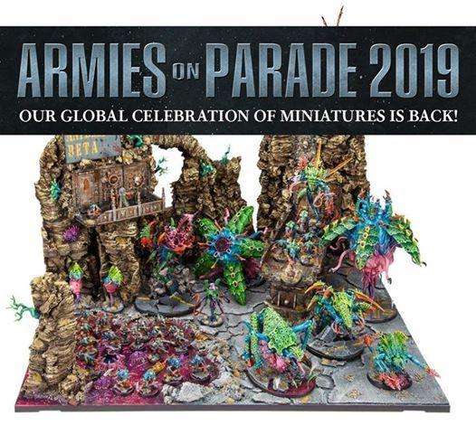 Armies on parade 2019