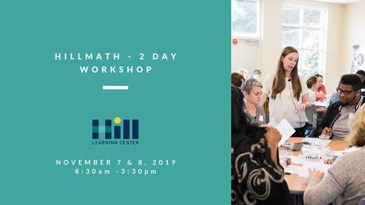 HillMath - 2 Day Workshop