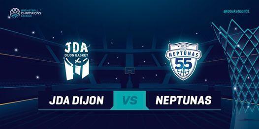 JDA Dijon v Neptunas Klaipeda