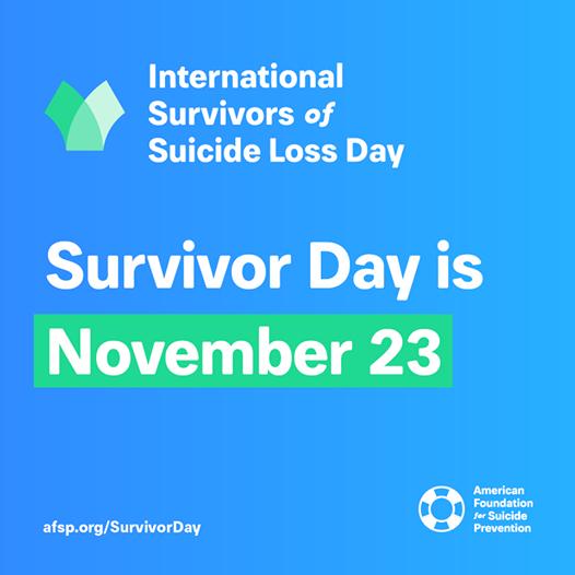Intnl Survivor of Suicide Loss Day Grand Island