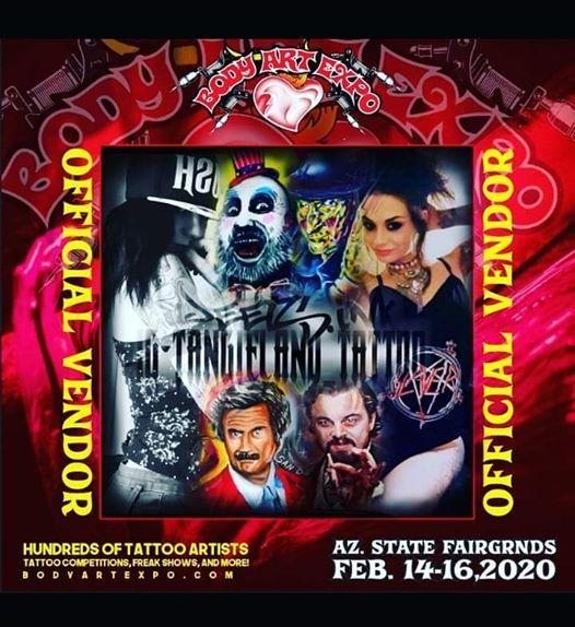 Body Art Expo Az State Fairgrounds Fri Feb 14 2020 At 08 00 Am