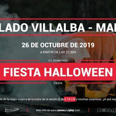 Fiesta Halloween con Dj K ta lin en Pause&ampPlay Planetocio