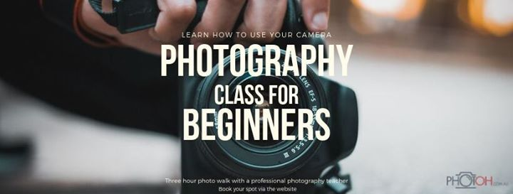 Adelaide Beginners Photography Class