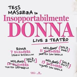 Tess Masazza a Milano sold out