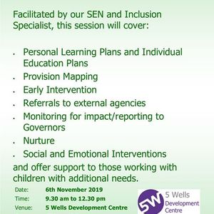 Personalised Provision for SEN