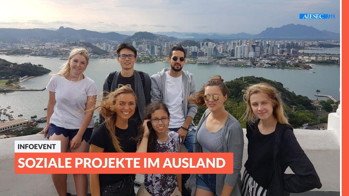 Aiesec Hannover ab ins ausland: infoevent zu sozialen projekten im ausland