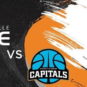 JCU Townsville Fire VS Canberra Capitals