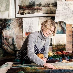 Felted Landscapes Workshop with Valerie Wartelle