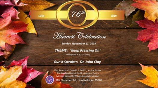 CGUMC 76th Harvest Celebration