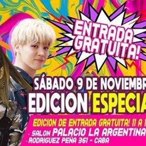 Kpop Stars Free Aniversario Sbado 911 en Palacio La Argentina