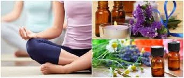 Bliss Yoga Wellness and essential oils morning