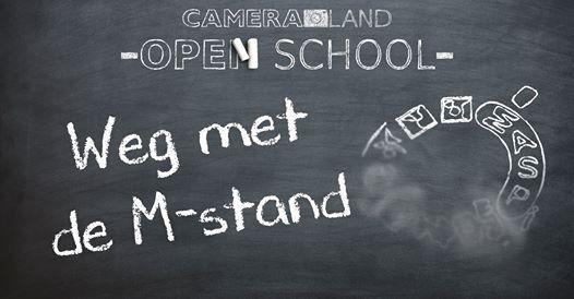 Open School Weg met de M-stand