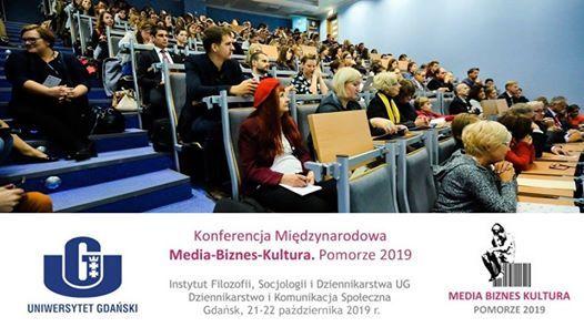 Konferencja Media - Biznes - Kultura 2019