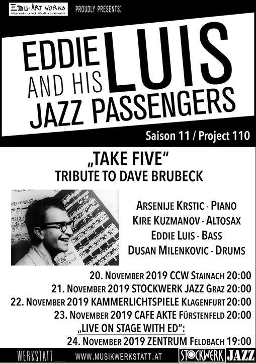Eddie Luis and his Jazz Passengers TAKE FIVE