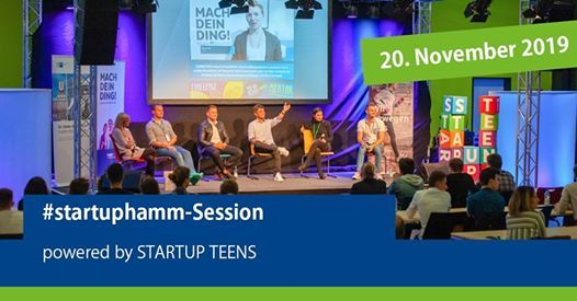 Startuphamm-Session - powered by Startup Teens