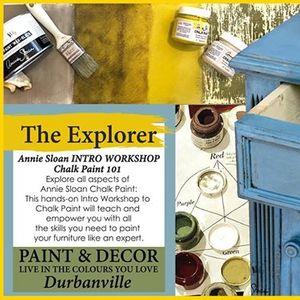 The Explorer (Annie Sloan Intro Workshop)
