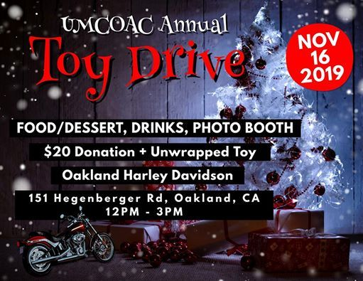 2019 United Clubs of Alameda County Toy Drive