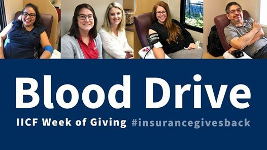 United Valley Insurance Services Blood Drive
