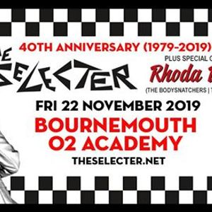 The Selecter 40th Anniversary Tour  Bournemouth
