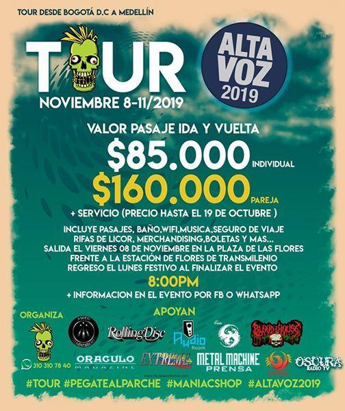 Tour Altavoz 2019 por Maniac Shop