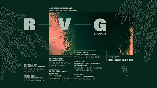 RVG National Headline Tour w The Native Cats & V - The Espy