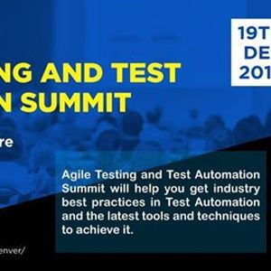Agile Testing and Test Automation Summit
