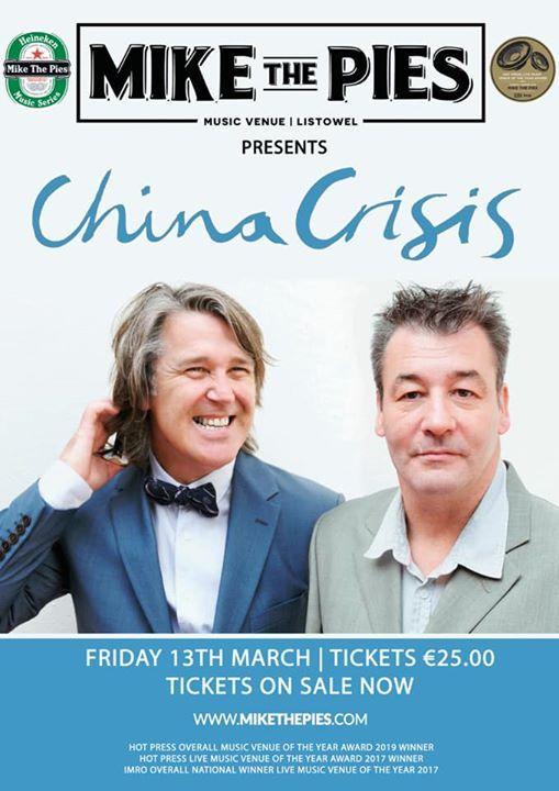 China Crisis in Mike the Pies