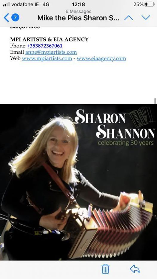 Sharon Shannon in Mike the Pies