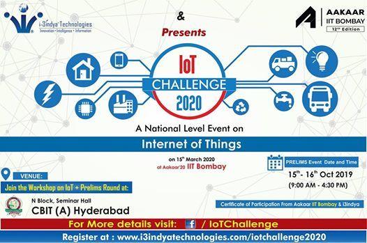 IoT Challenge 2020 Prelims Event - CBIT Hyderabad