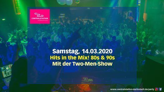 Hits in the Mix 80s & 90s mit der TwoMenShow  Darmstadt