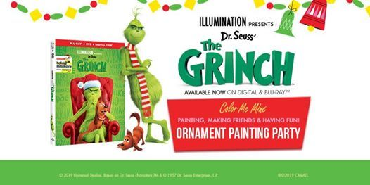 Grinch Kids Night Ornament Party - November 15th