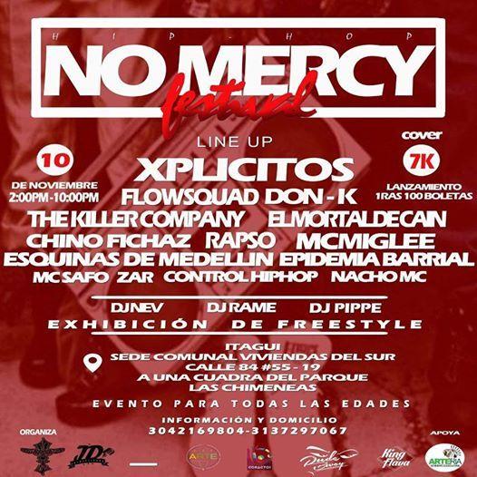 Hiphop NoMercy festival (todo publico)