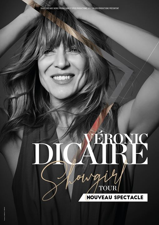 Vronic DiCaire  Angers (2020) - Showgirl Tour