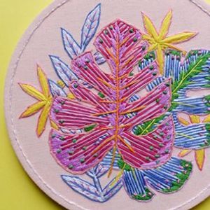 Botanical Embroidery Workshop with Lucy Freeman