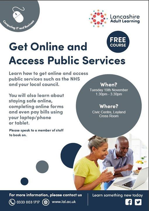 Get Online and Access Public Services