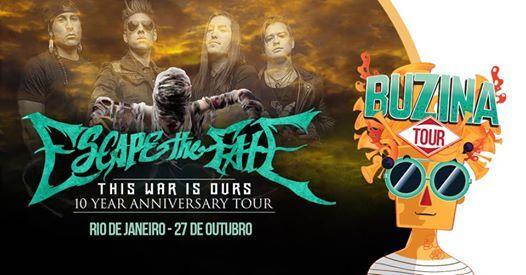 Escape The Fate no RJ - Buzina Tour