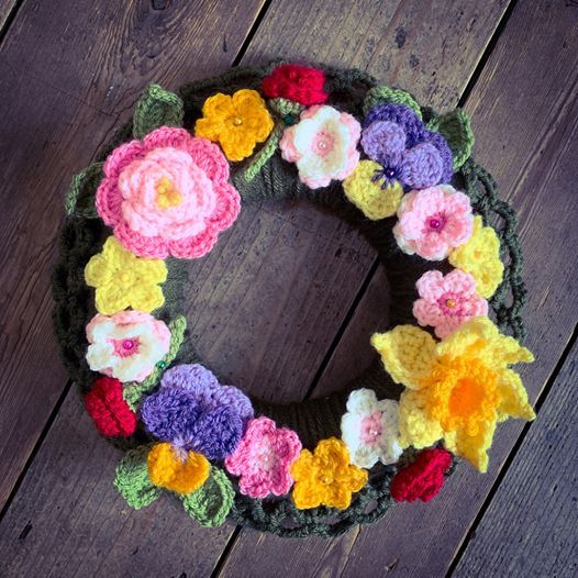 Crochet Spring Wreath Workshop