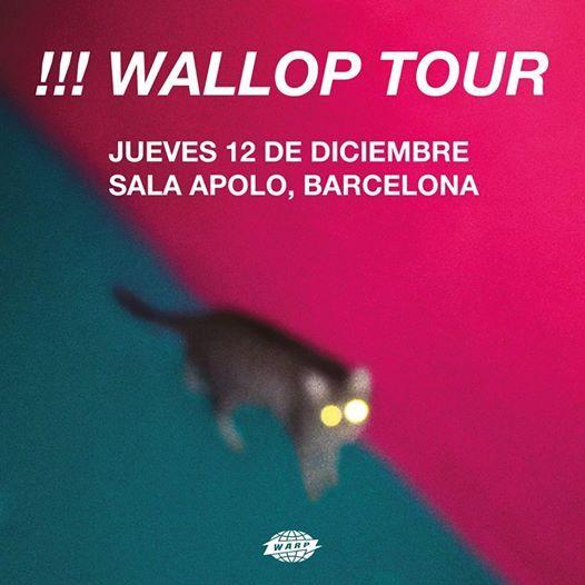 Chk chk chk - Barcelona Wallop Tour
