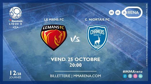 Le Mans FC - Chamois Niortais FC