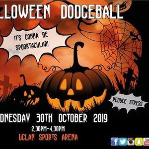 Halloween Dodgeball Session
