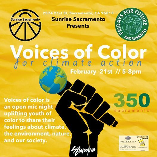Community Pop Up Voices of Color for Climate Action