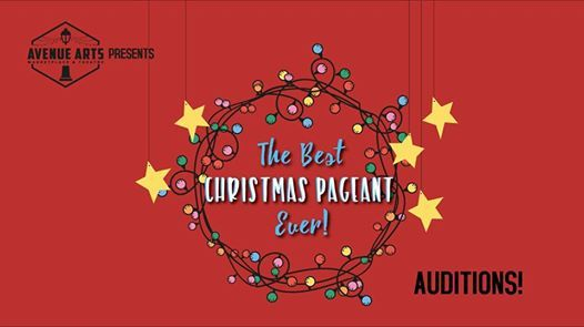 Auditions The Best Christmas Pageant Ever