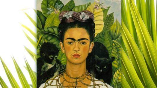 February Frida Portrait Paint Party