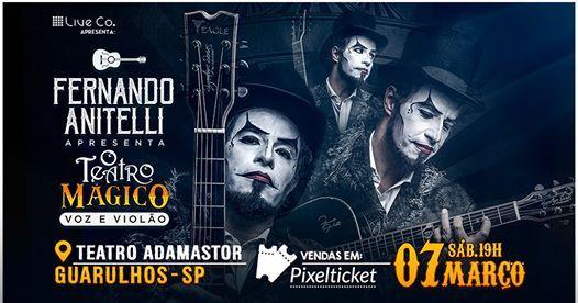 O Teatro Mgico (voz e violo) em Guarulhos