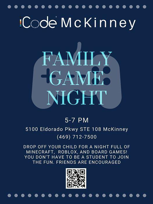 Game Night At Icode Mckinney Mckinney