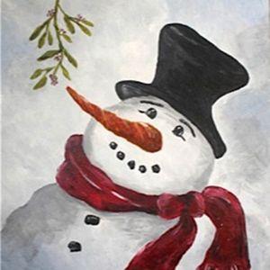 Paint Nite - Mr Frosty