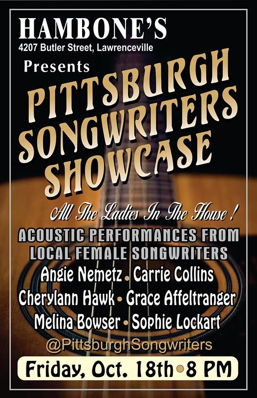 Songwriters Showcase at Hambones - All The Ladies In The House