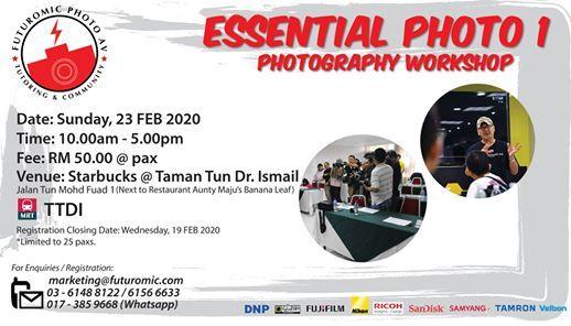 Futuromic Photo Photography Workshop - Essential Photo 1