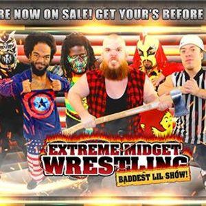 Extreme Midget Wrestling in Richmond VA at Bubbas Restaurant