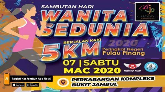 Sambutan Hari Wanita Sedunia Berjalan Kaki 5KM
